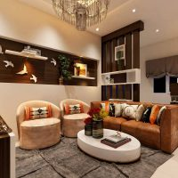 Living Area interior designers